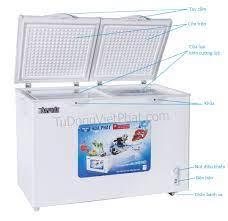 Tủ đông Hòa Phát HCF-600S2PN2 240 lít 2 ngăn đông mát - Giá rẻ 1/2020