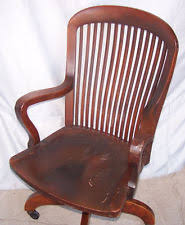 victorian office chair. Antique Mahogany Office Chair - Swivel Seat Wooden Victorian