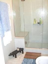 white glass tile shower white glass mosaic tile shower surround modern bathroom white glass subway tile