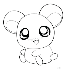 Coloring Pages Draw Easy Animals Cute Animal Coloring Pages Cartoon