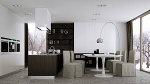 Modern Kitchen Living Room 12 Modern Eat In Kitchen Designs