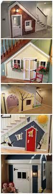 playhouse furniture ideas. kids indoor playhouse under stairs furniture ideas y