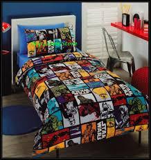 kids quilt duvet cover boy double star wars galaxy force double size quilt cover set my linen