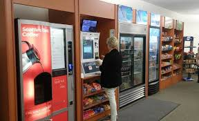Seattle's Best Vending Machine Delectable CWI Piloting Food Service Concept CWI