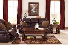 Walworth Blackcherry Power Reclining Living Room Set From Ashley