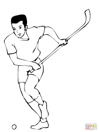 Small Picture Coloring Pages Kids Hockey Players Coloring Page Hockey