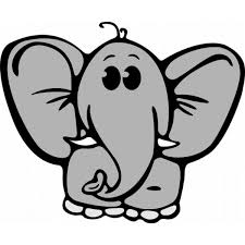 Disegno Di Elefantino A Colori Per Bambini Disegnidacolorareonlinecom