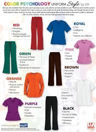 Uniform Advantage Color Psychology Guide For Nursing