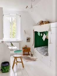 Scandinavian White Kids Alcove Beds