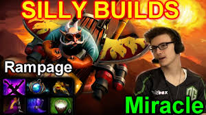 dota 2 miracle gyrocopter silly builds rampage youtube