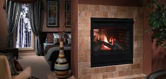 ventless see through gas fireplace fireplaces