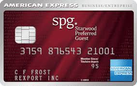 Ai Starwood Preferred Guest Business Credit Card From American