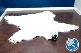 elegant faux polar bear rug and polar bear rug faux strikingly design ideas brilliant decoration skin