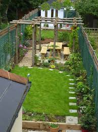 Small Picture 18 Clever Design Ideas for Narrow and Long Outdoor Spaces Narrow