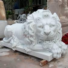 lion statue images decorative garden sculptures outside house