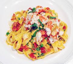 Crab Fettuccine Pasta Recipe ...