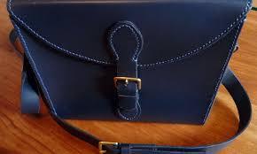 making a bespoke leather bag