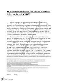 ww essay year hsc modern history thinkswap ww2 essay