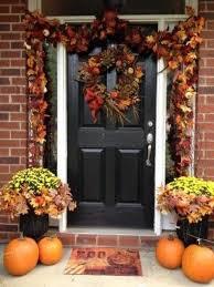 thanksgiving front door decorationsExcellent Thanksgiving Outside Decorations 91 About Remodel Home