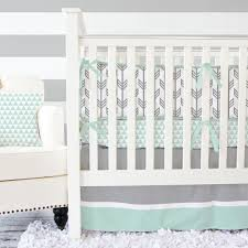 gray mint arrow baby bedding 2 or