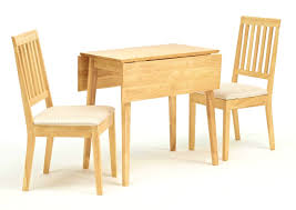 Drop Leaf Kitchen Table Chairs Drop Leaf Table With Folding Chairs Stored Inside