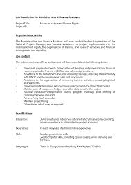Job Description Sample Administrative Assistant Administrative ... office administrator job description administrative assistant job description