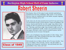 Robert Sheerin – BHS Athletic Hall of Fame