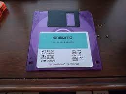 Ensoniq Vfx Soundbanks Floppy Disk