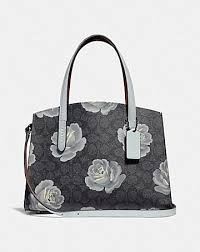 CHARLIE CARRYALL 28 IN SIGNATURE ROSE PRINT ...
