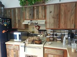 Kitchen Cabinets Refacing Diy Mesmerizing Diy Cabinet Refacing With Pallet Board Things To Love In Life In