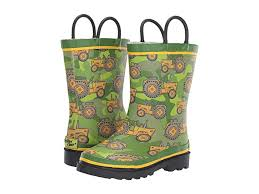Western Chief Toddler Rain Boots Size Chart Western Chief Kids Vintage Tractors Rain Boot Toddler