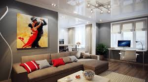 Modern Apartment Living Room Ideas Painting Custom Design Inspiration