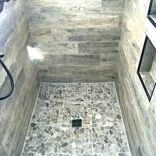 showers wood look tile shower subway with herringbone bathroom floor porcelain ceramic show