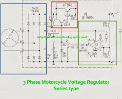 wiring diagram 3 phase motorcycle rectifier regulator circuit 5 wire regulator rectifier wiring diagram at 4 Pin Voltage Regulator Wiring Diagram