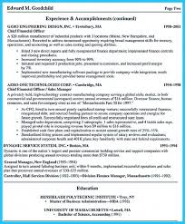 appealing formula for wonderful business administration resume looking