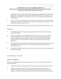 Construction Contract Template Agreement Form Books Project