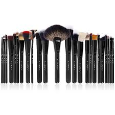 shany the masterpiece pro signature brush set 24pcs handmade natural synthetic bristle with wooden handle walmart
