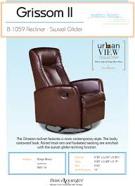 barcalounger eclipse ii leather recliner chair and ottoman dimensions barcalounger furniture chairs and recliners