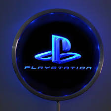 Playstation Light Us 19 99 Rs E0175 Ps Playstation Game Led Neon Light Round Signss 25cm 10 Inch Bar Signs With Rgb Multi Color Remote Wireless Control In Plaques