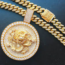 custom gold chains benballer on instagram gram 18k gold 30 carat vvs diamond custom pendants hip