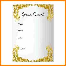 6 Create Your Own Invitations Free Grittrader Intended For Make