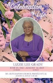 Celebration of Life - Lizzie Grady by aungelita - issuu