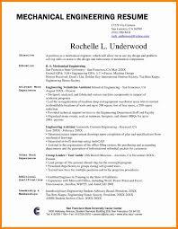 Engineer Resume Template Resume Template Engineering Fresh Rare Mechanical Engineeringume 56