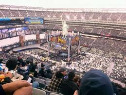 Metlife Stadium Wrestlemania 35 Seating Chart Metlife Stadium Section 335 Row 20 Seat 12 Home Of New
