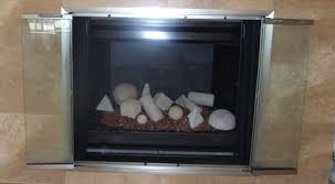 fireplace glass screens with doors