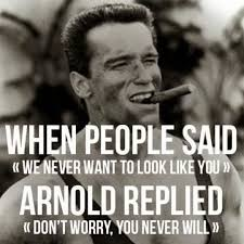 Most Famous Quotes Delectable One Of Arnold Schwarzenegger's Most Famous Quotes Imgur