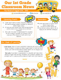 Editable Newsletter Templates Word Free Download