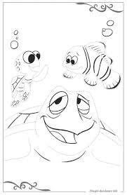 Alla Ricerca Di Nemo Scaricare Disegni Da Colorare Gratis