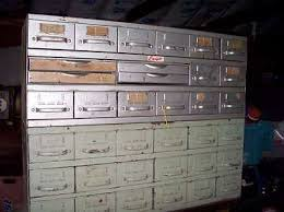 Vintage Addressograph 12 Drawer Industrial Cabinet With Base-Shop ...