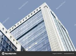 office centre video. The Office Centre. High Building Of Center. Many Glass Windows. With Centre Video